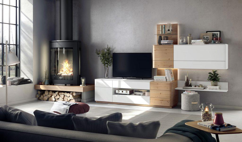 Meuble TV et composable Nature