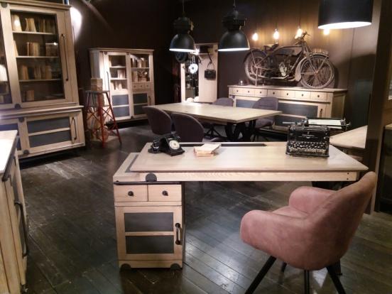 Zoom sur le mobilier bois à l occasion du salon esprit meuble