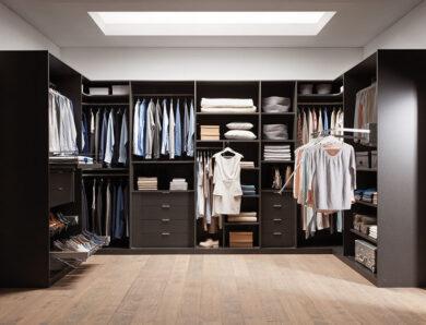 Comment aménager l'intérieur d'un dressing ?