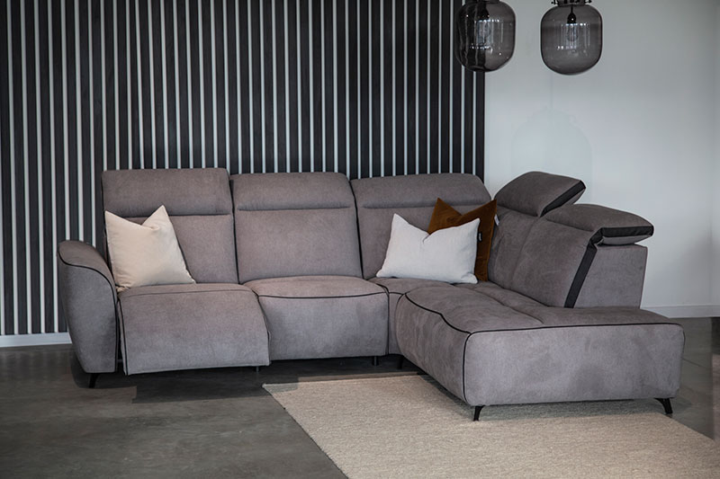 Canapé d'angle de relaxation DECADENCE