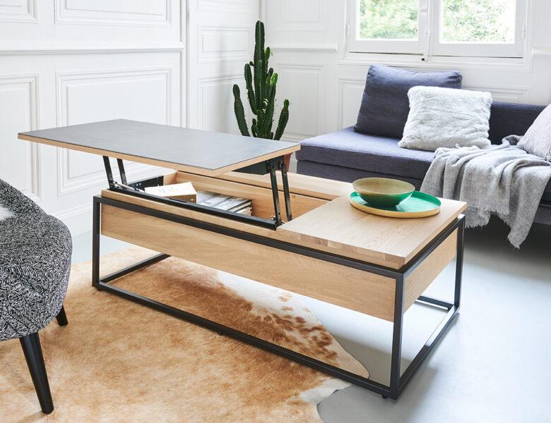 Pourquoi choisir une table basse relevable ?