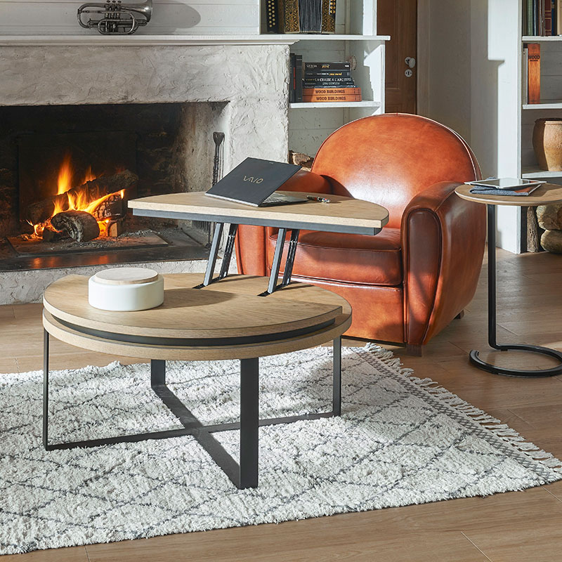 Table ronde relevable IDOINE