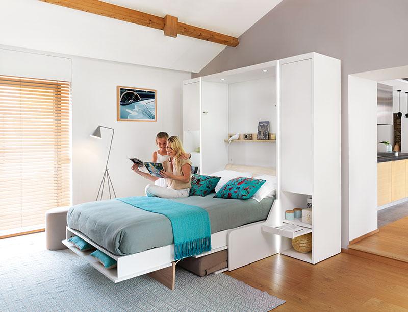 Comment transformer une pièce en chambre d'amis ou en bureau?