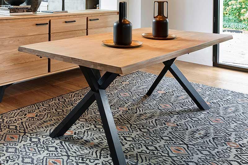Table en bois NOMADE L'Ameublier