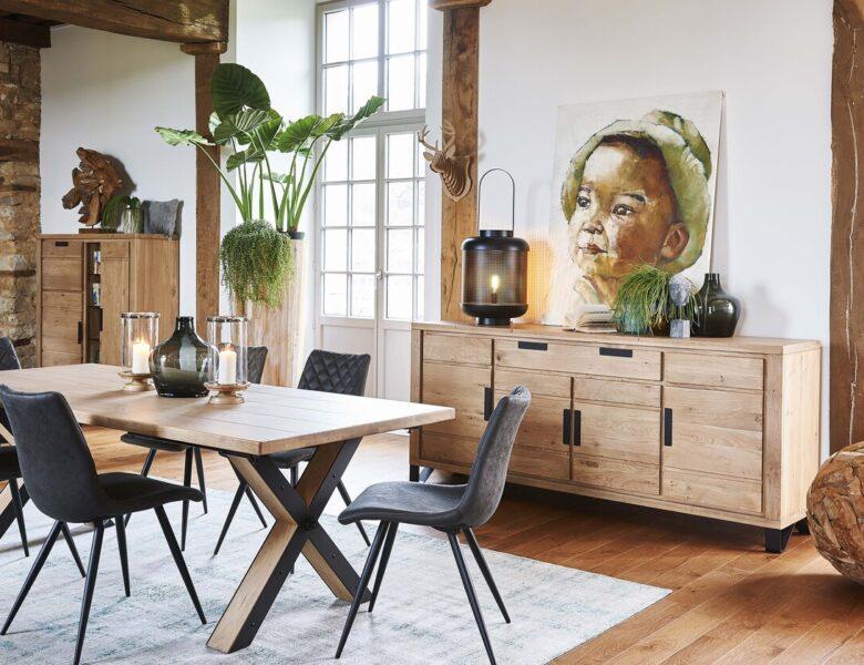 J'adopte le style industriel pour une salle à manger chic et chaleureuse