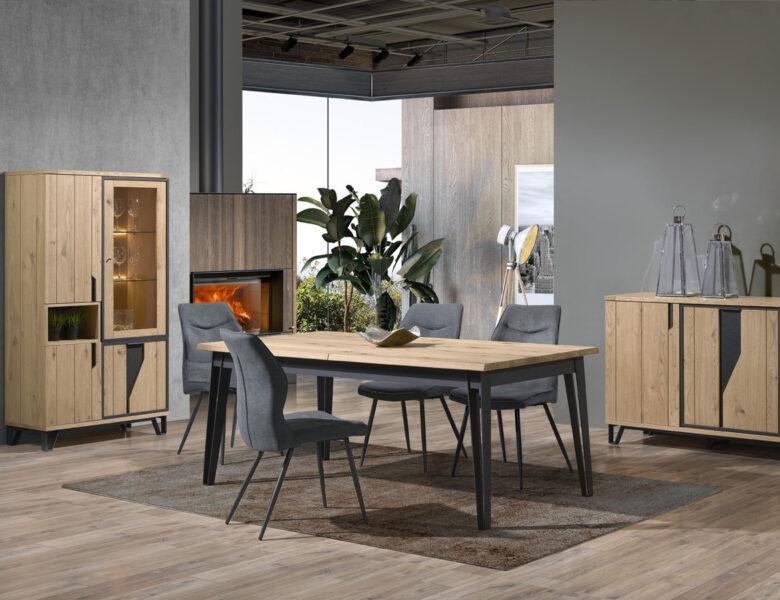 Quelles chaises choisir avec une table de repas industrielle ?