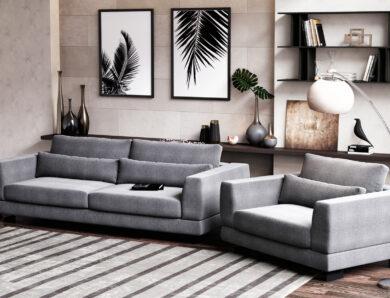 Comment associer canapé et fauteuil dans son salon ?