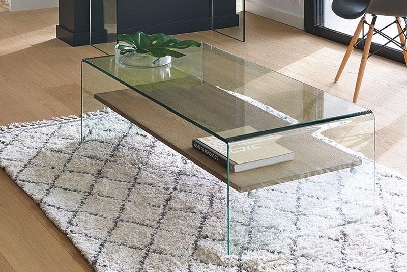 Table de salon en verre MANITOBA l'Ameublier